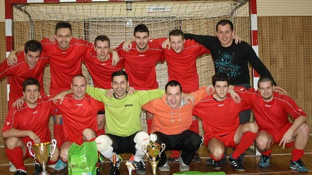 Futsalisté New Stars vyhráli letošní ročník přeboru Hodonínska. Ve finále porazili Duku 3:1.