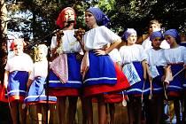 Folklorní soubor Kordulka navštěvují děti od šesti do patnácti let.