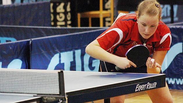 Česká juniorská reprezentantka Karin Adámková.