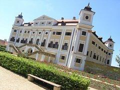 Barokní zámek Milotice. Ilustrační foto.