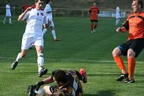 Krajský pohár: Rohatec (v oranžovém) vs. Židenice