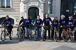 Akci Do práce na kole ukončili společnou jízdou