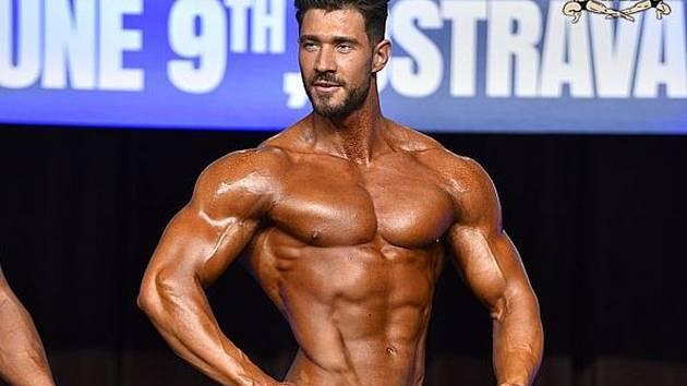 Martin Jež se stal vítězem kategorie Muscular physique.