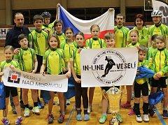 Veselští in-line bruslaři ukončili nadvládu rakouských klubů a poprvé v klubové historii ovládli Austrian Indoor Trophy.