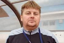 Trenér mužů z Kyjova Miroslav Čada.