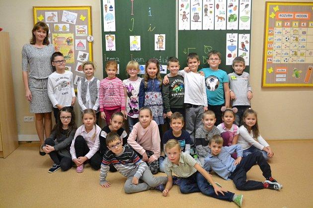 Žáky 1.Atřídy Základní školy vDolních Bojanovicích učí Magda Svobodová.