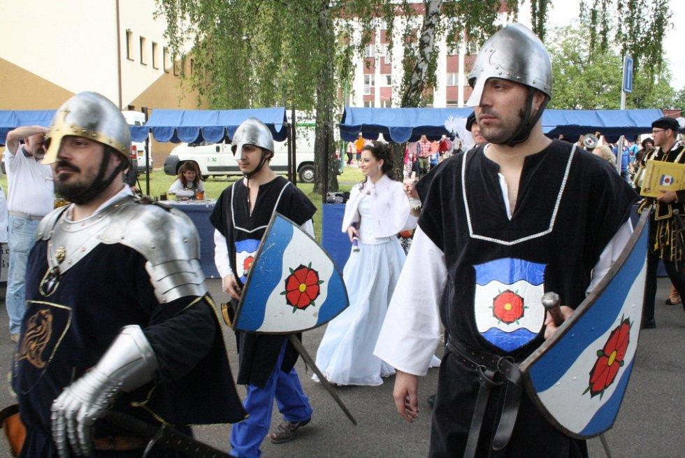 Osmý ročník pohádkového festivalu Vodní království v Hodoníně.