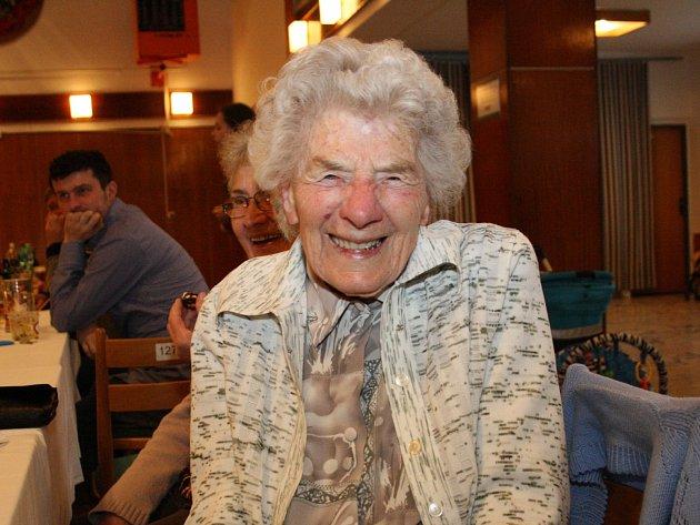 Marie Surá ze Žádovic oslavila sto let.