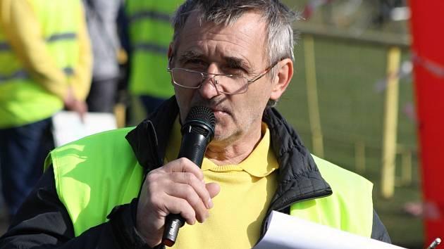 Ředitel Moravsko-slovenského běžeckého poháru 2016 Pavel Bíla (na snímku).