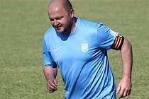 Hrající trenér Uhřic Tomáš Valihrach nebyl proti Mikulovu spokojený s výkonem mužstva ani konečným výsledkem.