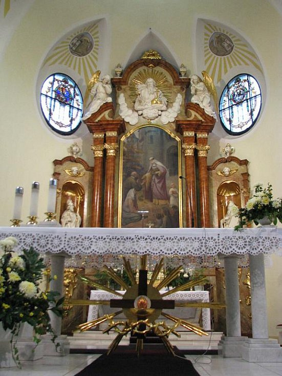 Kostel ve Vnorovech slavil sté výročí posvěcení.