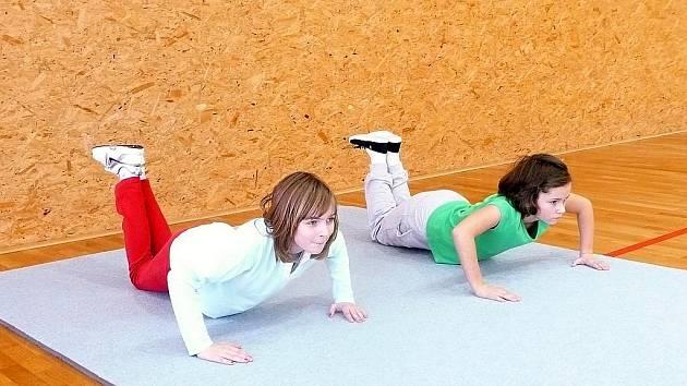 Tradiční fittest absolvovaly mikulčické děti.