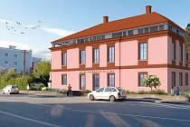 Kleinův dům v Čejči podle studie architekta Tomáše Havlíčka.