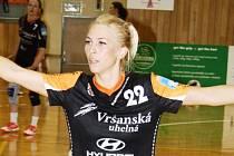 Mezi hvězdy letošního házenkářského Slováckého poháru patří i posila Mostu Lucia Súkenníková.
