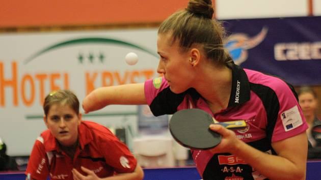 Polská reprezentantka Natalia Partyková se v Hodoníně představila jako soupeř před dvěma lety, nyní bude čtyřnásobná paralympijská vítězka nosit dres českého mistra.