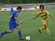 Fotbalisté Kyjova (v modrém) - ilustrační foto.
