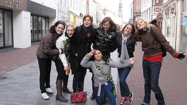 Studenti strážnického Purkyňova gymnázia v Holandsku.