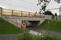 Viadukt v Hodoníně dnes.