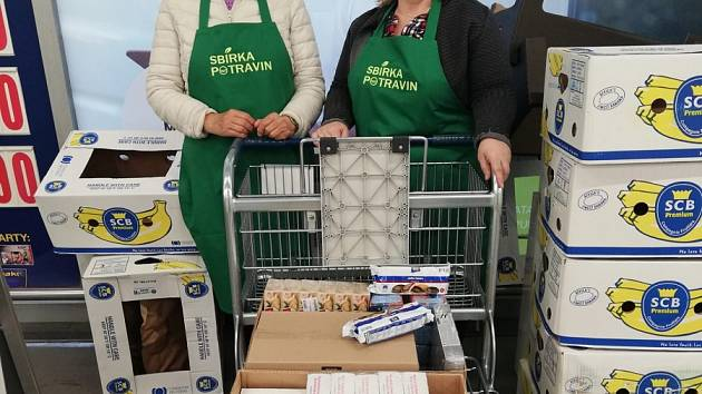 Charita chystá sbírku potravin