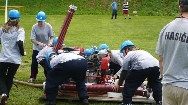 Sbor dobrovolných hasičů z Kněždubu.