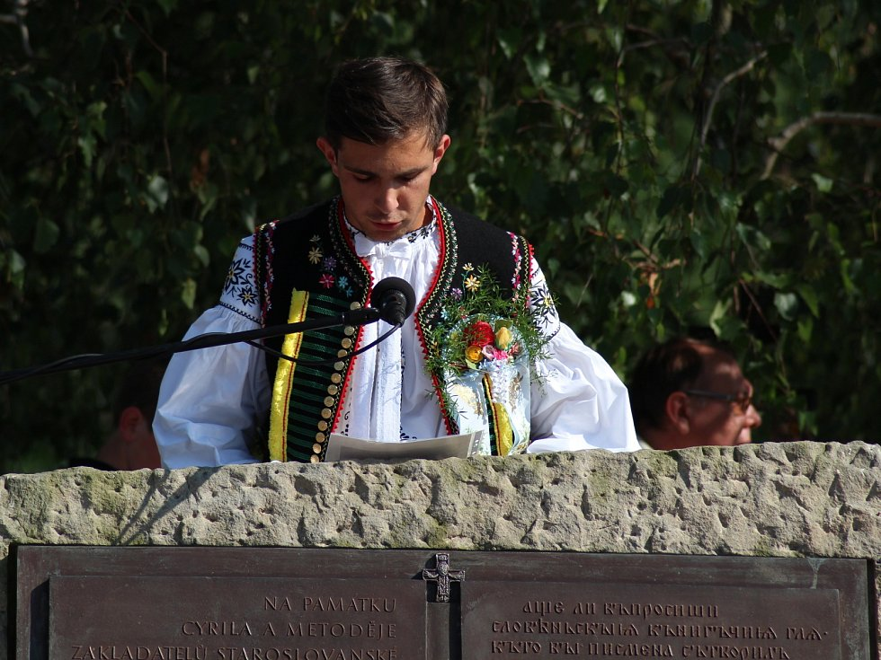 Cyrilometodějská pouť Podluží 2015.