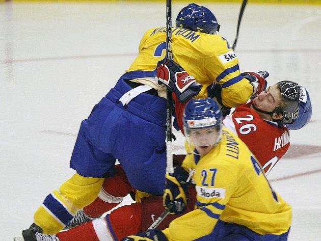 Světový šampionát dvacítek v Regině: Česko vs. Švédsko