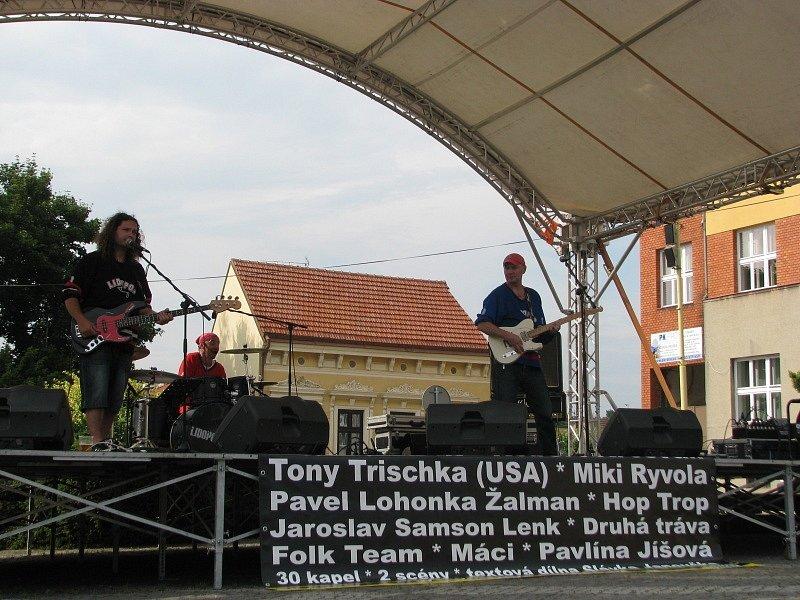 Lidopop na Festivalu Slunce ve Strážnici.