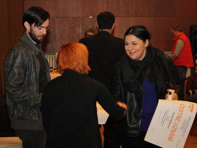 Slavnostní vyhlašování výsledků letošních přehlídek Hobblík a Mumraj v Hodoníně.