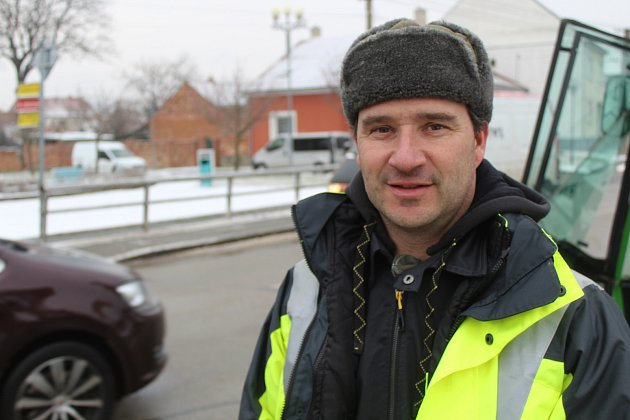 Josef Opavský, 42let, zaměstnanec na obecním úřadě