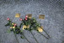 Kyjovští odhalili další kameny zmizelých. Jsou na Masarykově náměstí.