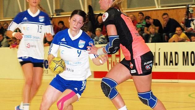 Kapitánka Veselí nad Moravou Klára Jandásková podala proti Písku stejně jako zbytek domácího týmu výtečný výkon.