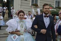 Pořádnou dávku hodového veselí zažili lidé v Hodoníně na Svatovavřineckých slavnostech.