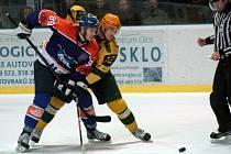 Hodonínští hokejisté přehráli ve šlágru 15. kola Vsetín.