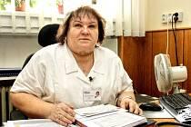 Ředitelka hodonínské nemocnice Věra Dostálová.