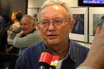 Hodonínský fotograf Josef Holomáč.