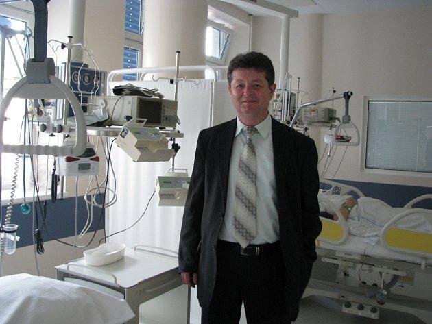 Nový ředitel hodonínské nemocnice Antonín Tesařík
