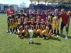 Velký úspěch v Itálii zaznamenaly naděje hodonínského fotbalového klubu. Kluci z přípravky ve městě Gubbio ovládli mezinárodní turnaj.