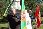 Pietní akt u příležitosti pětasedmdesátého výročí umučení učitele a komunistického odbojáře Rudolfa Filipa.