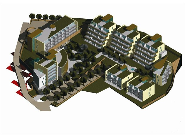 Projekt Kyjovské investiční počítá s výstavbou více než padesáti bytových jednotek.
