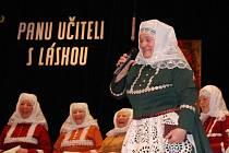 Tetky z Kyjova při nedávném vystoupení v místním kulturním domě.