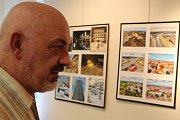Desátá výstava Antonína Kučera v hodonínském Regionálním centru - Nostalgická retrospektiva.