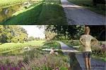 Jeden z podaných návrhů řeší květinovou výzdobu parku a místa k relaxaci ve Veselí nad Moravou.