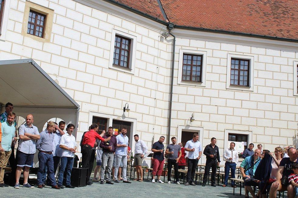 V Čejkovicích se konaly třiadvacáté Vinné trhy.