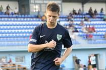 Útočník Mutěnic Marcel Čepil (na snímku) se na obratu v Rousínově z 0:2 na 4:2 podílel jedním gólem.