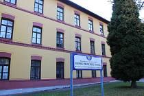 Bývalá městská budova v Brněnské ulici v Hodoníně.