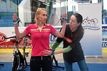 První ročník hodonínského Miniveletrhu fitness wellness.