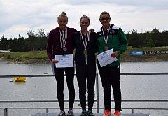 Dálková plavkyně Lucie Zubalíková ovládla Český pohár kadetek. Svůj triumf završila na veslařském kanále v Račicích.