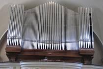 Varhany v hodonínském kostele svatého Vavřince