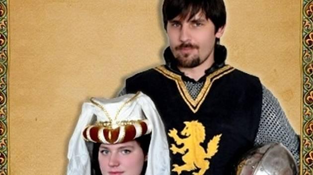 Budoucí manželský pár Lenka Hubáčková s Michalem Gruberem z Hodonína.