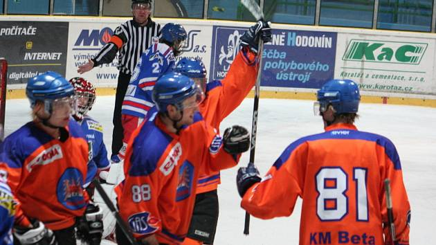 Hodonínští juniorští hokejisté